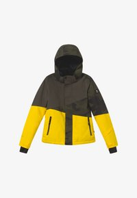 Brunotti - IDAHO BOYS - Snowboard jacket - cyber yellow - 3