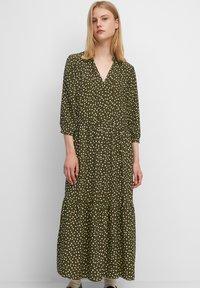 Marc O'Polo DENIM - Maxi dress - multi/burnished logs - 0