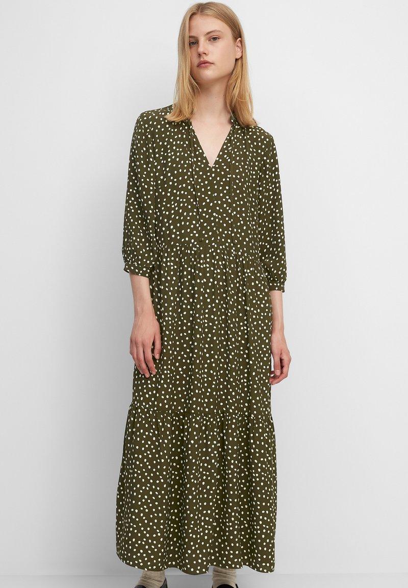 Marc O'Polo DENIM - Maxi dress - multi/burnished logs