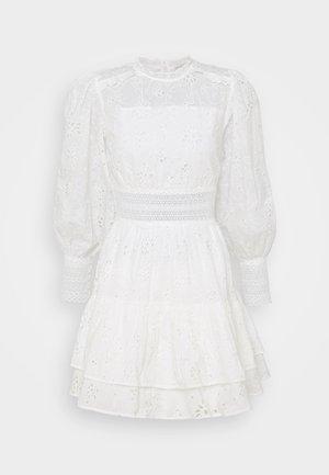 ANNASIA DRESS - Vestido informal - chalk white