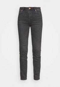 SLIM - Slim fit jeans - grey denim