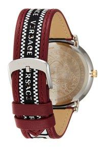 Versace Watches - CIRCLE GRECA EDITION - Zegarek - red - 3