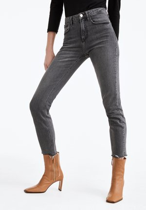 Slim fit jeans - gray