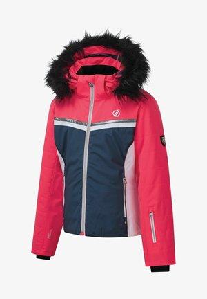 Waterproof jacket - dkdnm/neonpk