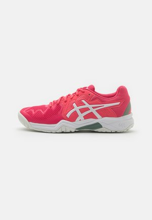 GEL-RESOLUTION 8 UNISEX - Chaussures de tennis toutes surfaces - pink cameo/white