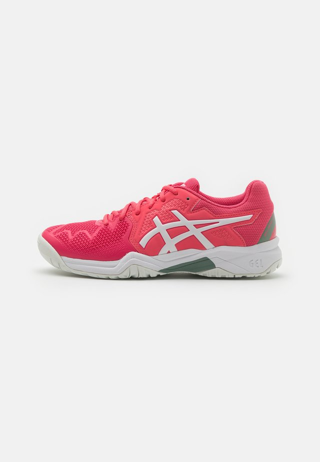 GEL-RESOLUTION 8 UNISEX - Zapatillas de tenis para todas las superficies - pink cameo/white