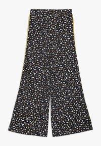 The New - MELROSE WIDE PANTS - Pantalones - black iris - 1