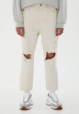 Džíny Relaxed Fit - beige