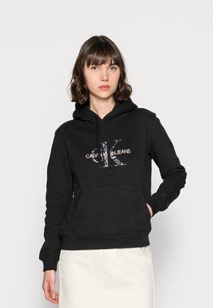 REPTILE MONOGRAM HOODIE - Sweatshirt - black