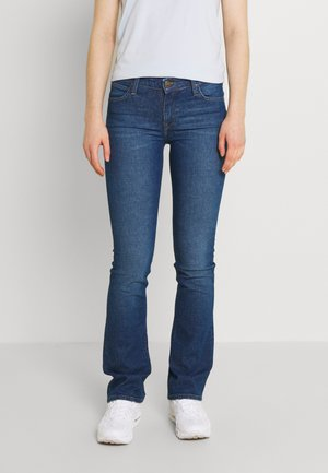 HOXIE - Jeans bootcut - dark garner