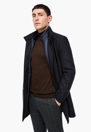 SLIM FIT - Classic coat - dark blue