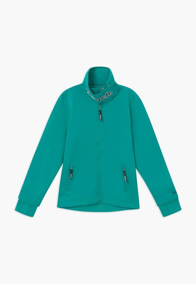 MONICA - Hoodie met rits - turquoise