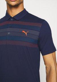 Puma Golf - ROAD MAP - T-shirt de sport - peacoat - 5
