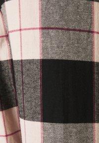Hunkemöller - PANT CHECK CUFF - Pyjama bottoms - black - 2