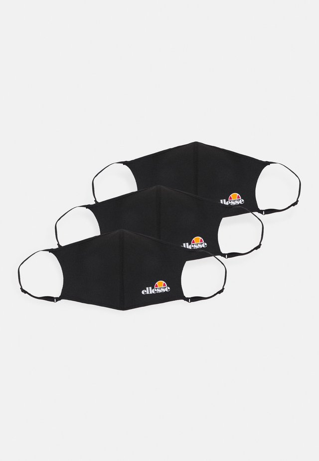 PALSITO FACE UNISEX 3 PACK - Masque en tissu - black