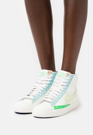 BLAZER 77 - High-top trainers - sail/lime ice/copa/game royal/light green spark