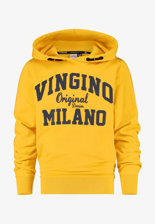 Jersey con capucha - gold yellow