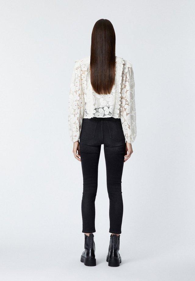 Button-down blouse - ecr