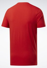 Reebok - ELEMENTS SPORT SHORT SLEEVE GRAPHIC TEE - Print T-shirt - red - 6