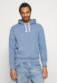 Champion Rochester - HOODED - Sweatshirt - light blue - 0