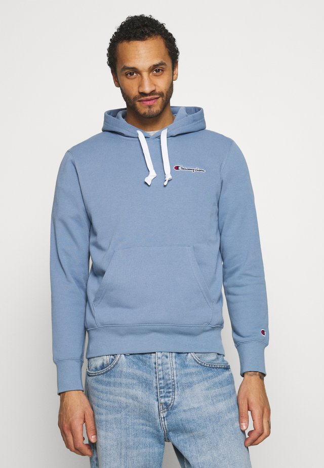 HOODED - Sweatshirt - light blue