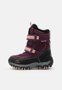 Kappa - BONTE TEX UNISEX - Zimní obuv - purple/rosé - 0