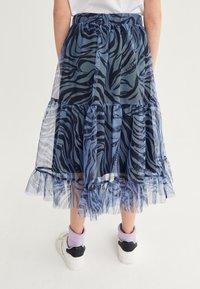Next - Pleated skirt - blue - 0