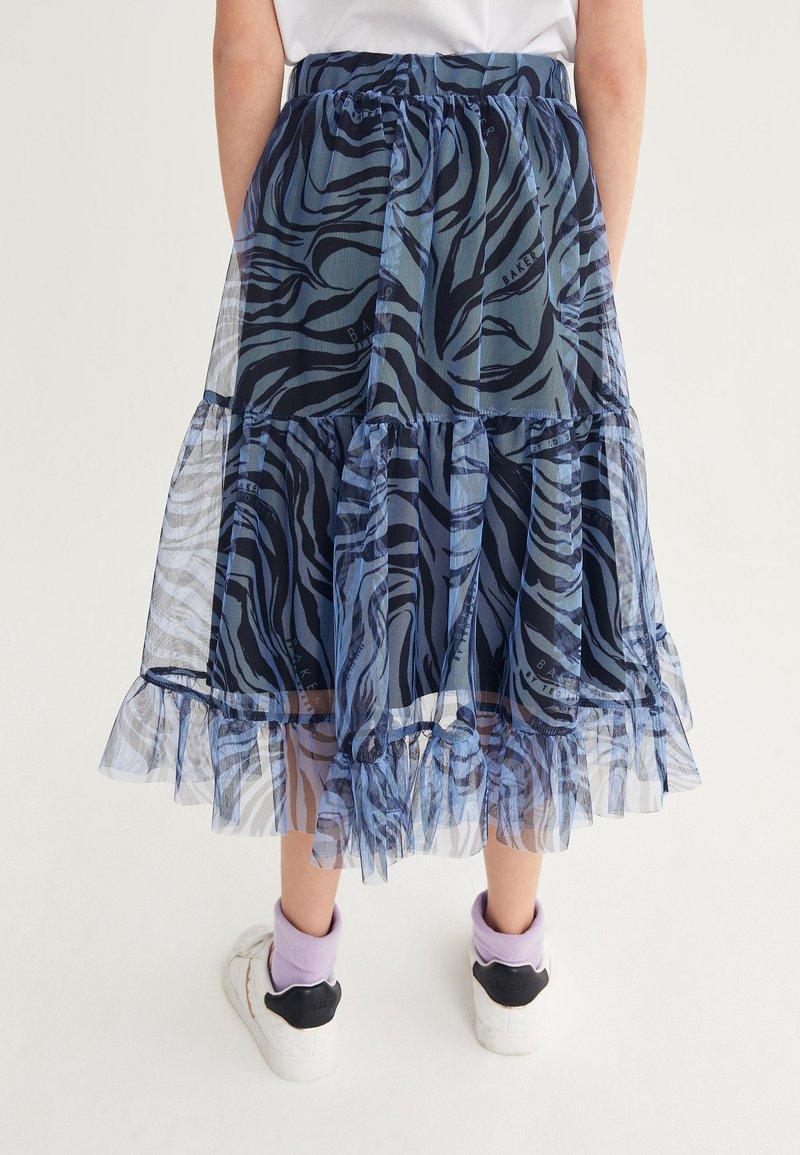 Next - Pleated skirt - blue
