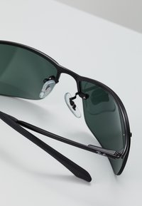 Ray-Ban - TOP BAR - Sunglasses - black green - 2
