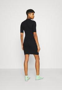 Even&Odd - Pletené šaty - black - 2