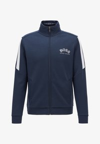 BOSS - SKAZ - Sweatjacke - dark blue - 3