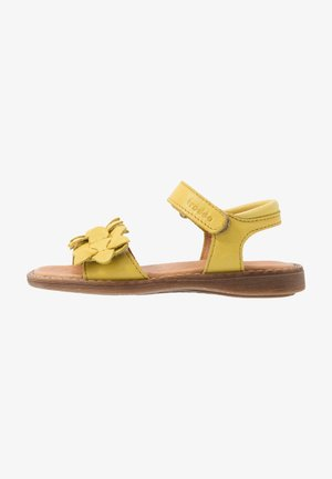 LORE FLOWERS MEDIUM FIT - Sandals - yellow