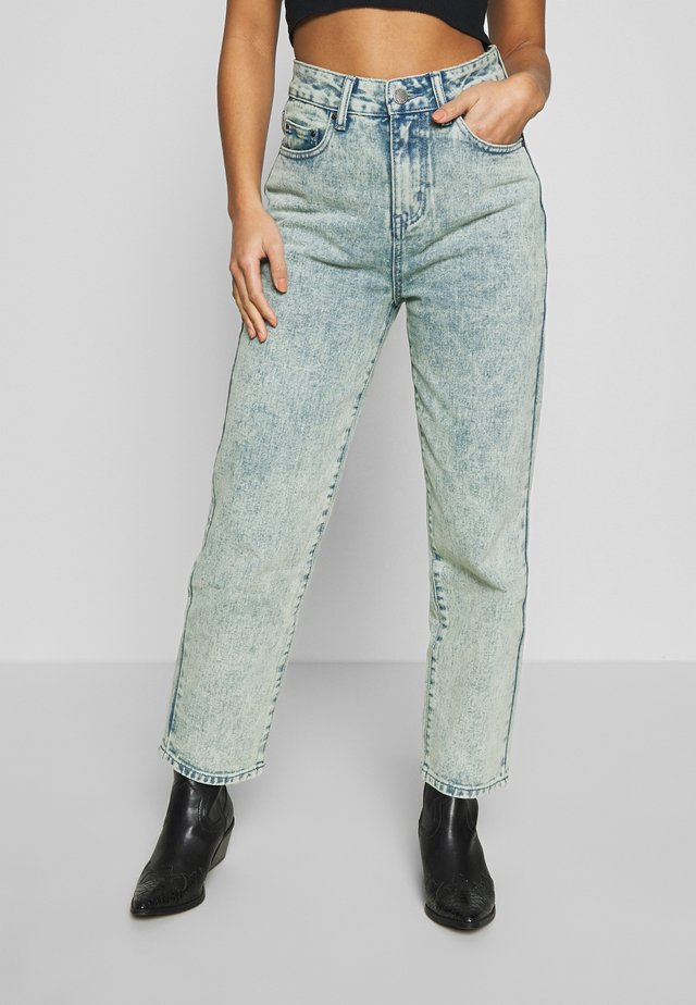 STRAIGHT - Straight leg jeans - acid wash