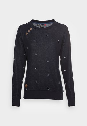DARIA DOTS - Sweatshirt - navy