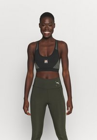 Ellesse - GRIZA - Medium support sports bra - black - 0