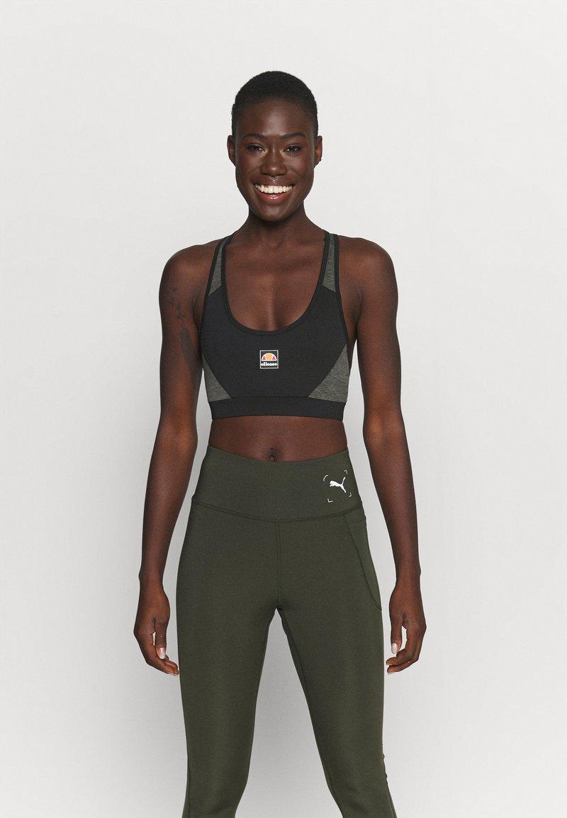 Ellesse - GRIZA - Medium support sports bra - black