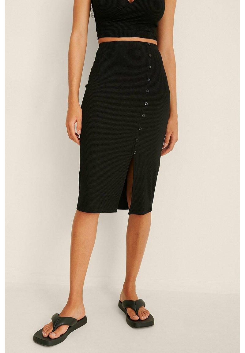 NA-KD - Pencil skirt - black