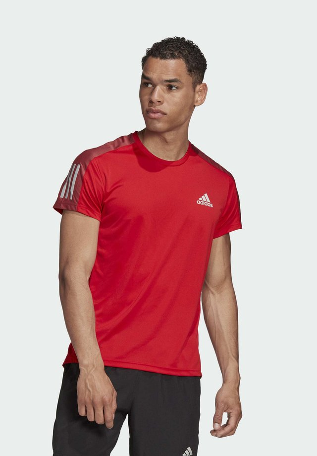 OWN THE RUN T-SHIRT - T-shirt con stampa - red