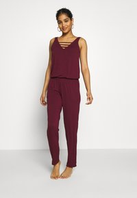 s.Oliver - OVERALL - Beach accessory - bordeaux - 0