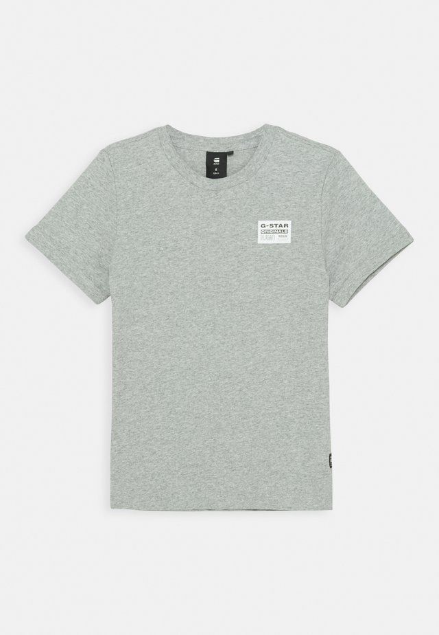 TEE - Basic T-shirt - mid grey