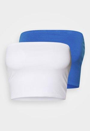 ADDILYN TUBE 2 PACK - Toppe - white/blue