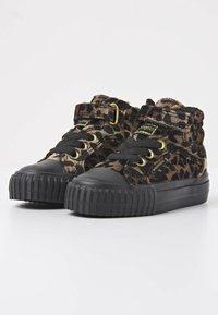 British Knights - Sneakers hoog - rust leopard/gold/black - 2