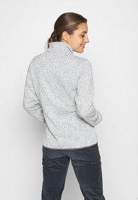 CMP - Fleece jacket - gesso melange/graffite - 2