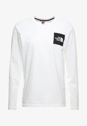 FINE TEE  - Pitkähihainen paita - white