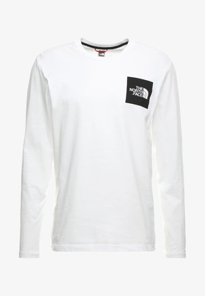 FINE TEE  - Long sleeved top - white