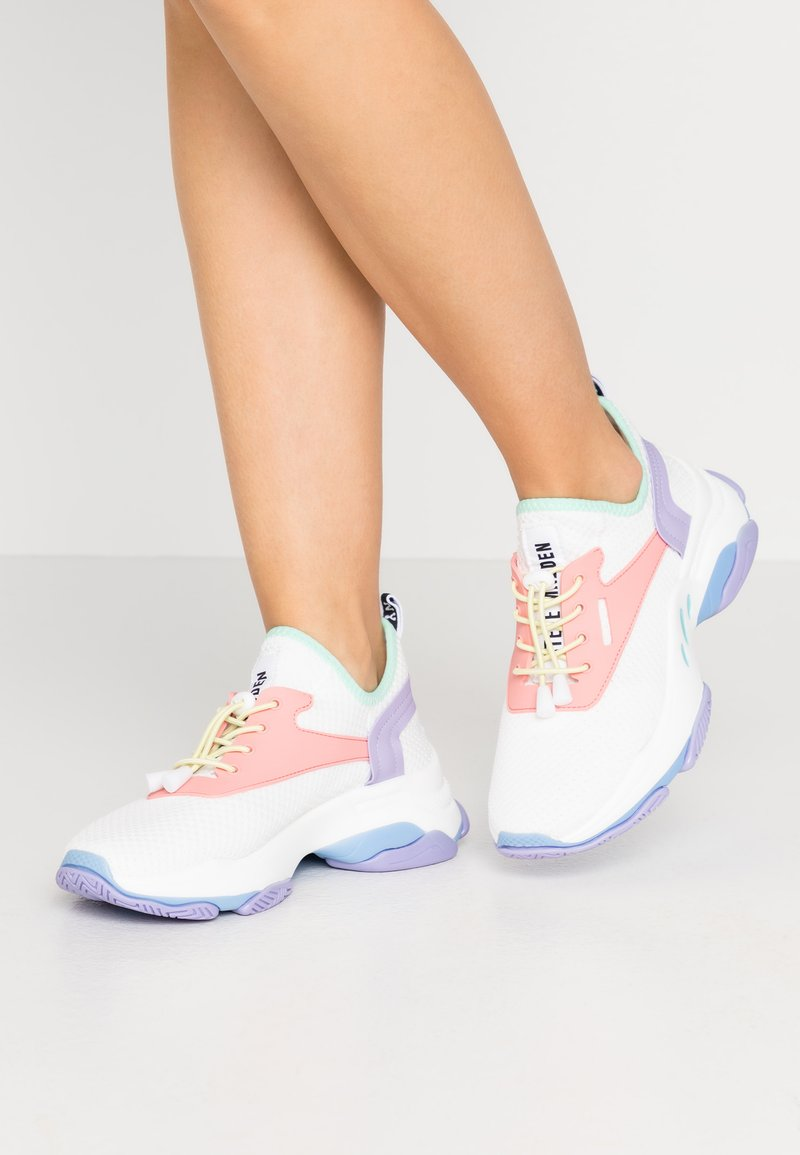 Steve Madden - MATCH - Sneakers - white/pink