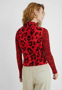 Desigual - Long sleeved top - red - 2