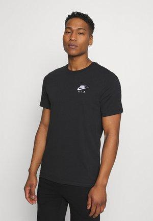 TEE NIKE AIR  - Camiseta estampada - black