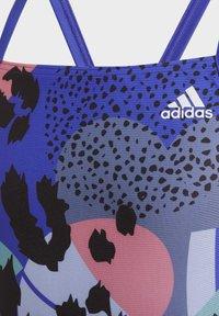 adidas Performance - ANIMAL SUIT  - Swimsuit - blue - 2