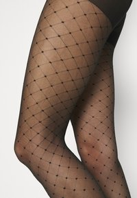 Pour Moi - CHARM LUXE 15 DENIER DIAMOND TIGHTS 2 PACK - Tights - black - 2